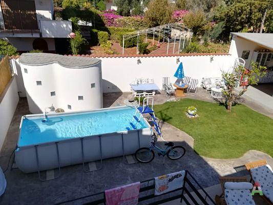 Casa vacanze con piscina fuori terra a 4 minuti dal mar a ...