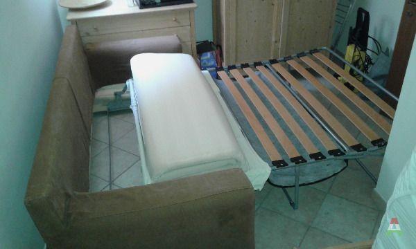 Divano letto grande marrone con poltrona a verona in compra e vendi annunci - Subito it divano letto ...
